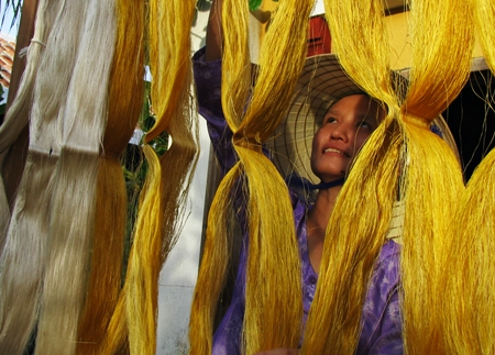 Hoi An's traditional silk village
