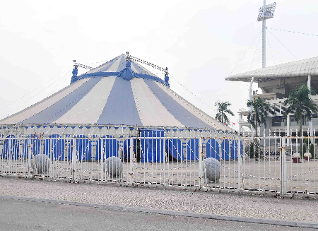 Local authorities defend 'extra services' at My Dinh Stadium