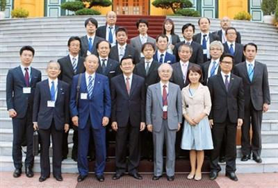 President: Vietnam seeks Japan's help for support industries