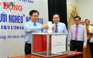 'Month for the poor' launched