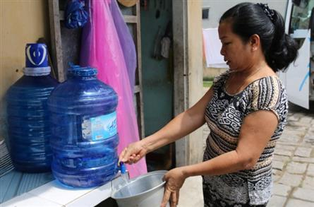 Saltwater intrusion causes water shortage in Hoi An
