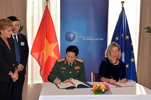 Vietnam becomes second Asian country to sign Framework Participation Agreement with EU