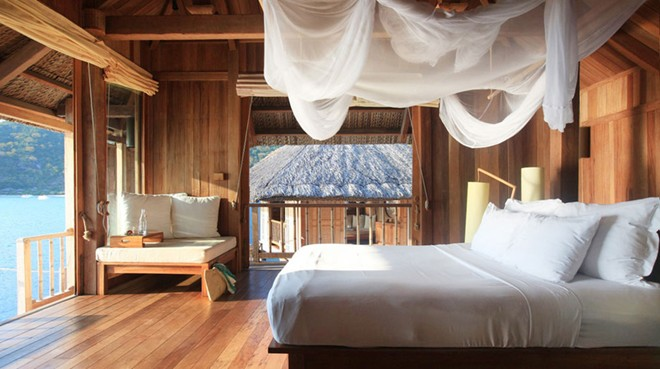 Daily mail names six senses the world s most romantic for Romantic hotels of the world