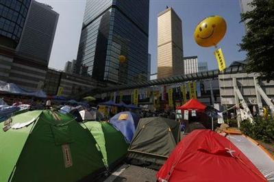 Support for Hong Kong street protests wanes ahead of expected clearance: poll