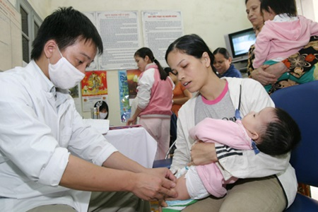 Baby vaccinations remain a cause for concern