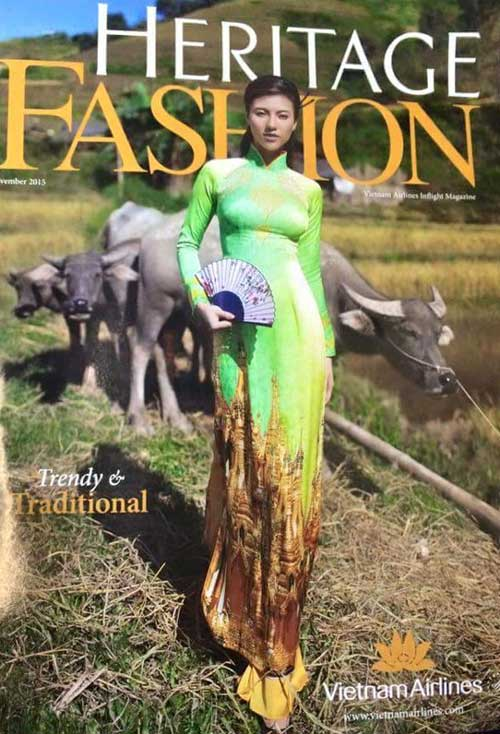 Vietnam Airlines to pull copies of magazine after Shwedagon-print dress prompts outrage