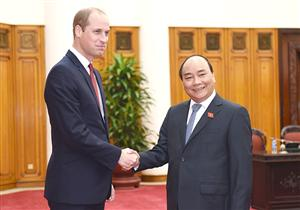 PM receives Prince William