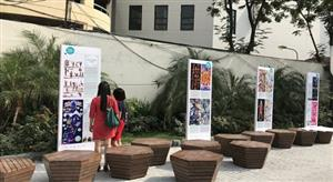 Hanoians enjoy the Rivers of the World Exhibition 2017
