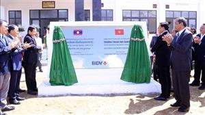 Vietnam-funded Dakchueng School handed over to Lao people