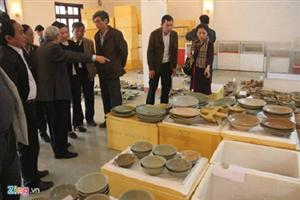 Ancient shipwreck goods head for museum