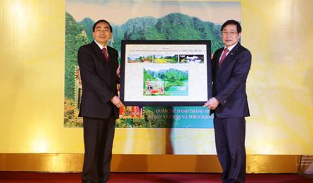 Vietnam marks new UNESCO site with stamp issue