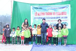 More classrooms built for children in remote area