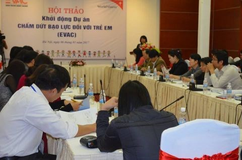 Vietnam is among four Mekong countries benefiting from the four-year project, as an effort to end violence against children.