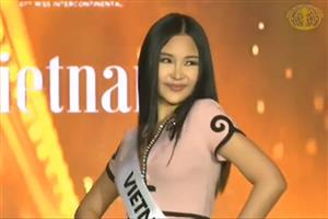 Vietnamese entrant at Miss Intercontinental criticised