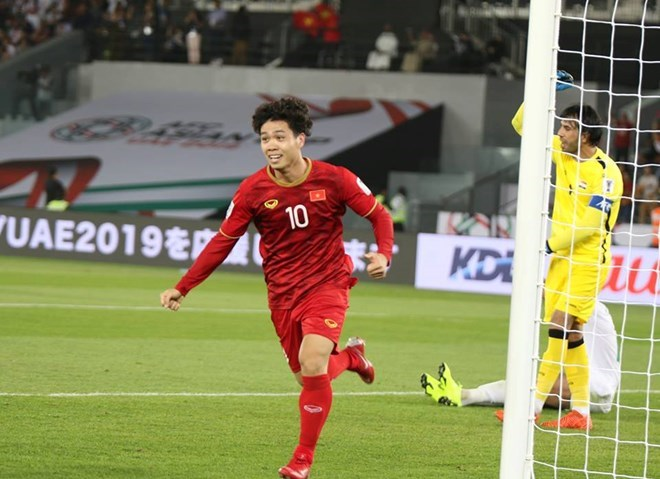 b1aeee6ff Vietnam lost 2-3 to Iraq in their first match of Group D in the AFC Asian  Cup 2019
