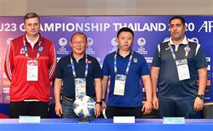 "Coach Park Hang-seo: ""Vietnam are 100% ready for AFC U23 Championship"""