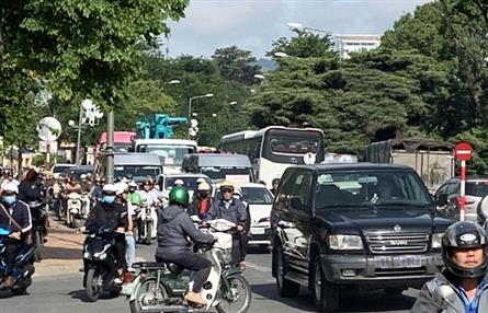 Dalat finally to introduce traffic lights to ease rising congestion