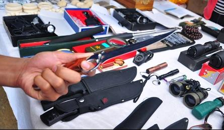 Deadly weapons publically available in HCM City