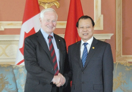 Deputy PM visits Canada to seek stronger co-operation