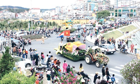 Da Lat city to bloom anew at flower festival