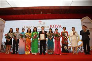Blood freezing technique and milk with high protein win KOVA Prize