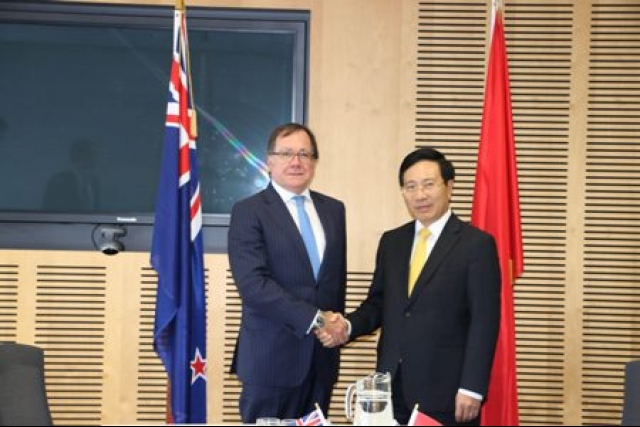 Vietnam and New Zealand target two-way trade of $1.7 billion by 2020