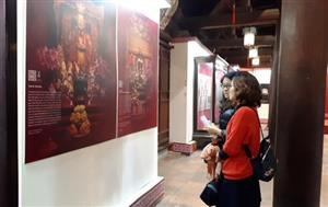Exhibition highlights beauty of Literature Temple