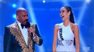 Hoang Thuy finishes in the Miss Universe 2019 top 20