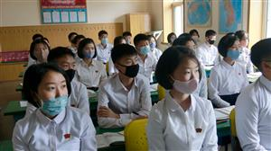 Testing time: South Korean students take exam with virus precautions