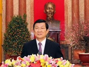 President calls for further scientific contributions