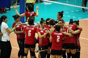 Four foreign teams compete at international volleyball tourney in Vietnam