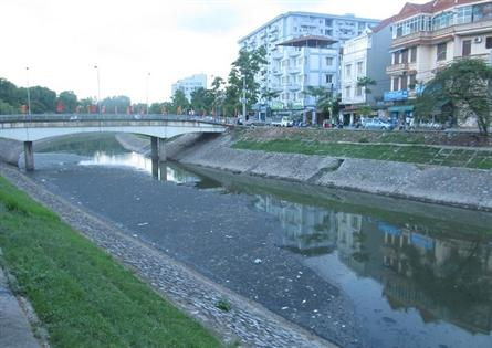 Hanoi to revive four polluted rivers