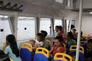 Sai Gon river bus fails to attract regular commuters