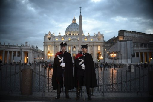World waits as historic papal election looms