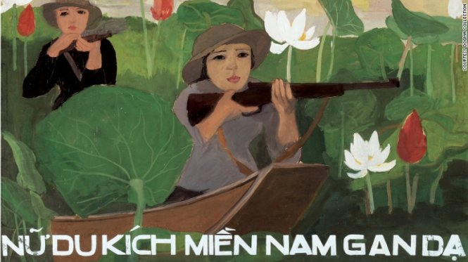 CNN introduces Vietnam's propaganda posters in wartime