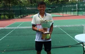 Hoang Nam crowned champion at ITF Junior G1 tournament's singles event