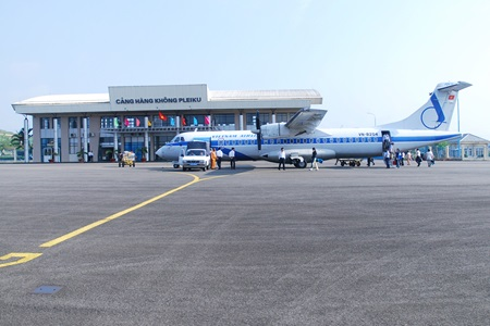 Pleiku Airport closed temporarily for repair