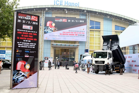 International mining expo in Hanoi draws record exhibitors