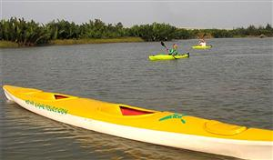 Kayak tours to clean up Hoi An waterways