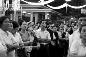 Thousands gather to receive Ho Chi Minh City Archbishop home