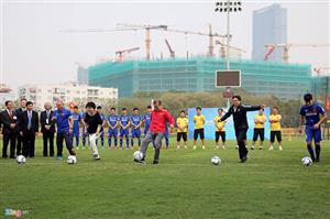 VFF shakes hand with KFA to develop football