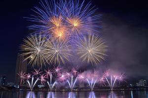 Danang International Fireworks Festival shortened