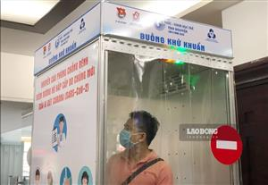 More firms produce Covid-19 mobile disinfection chambers