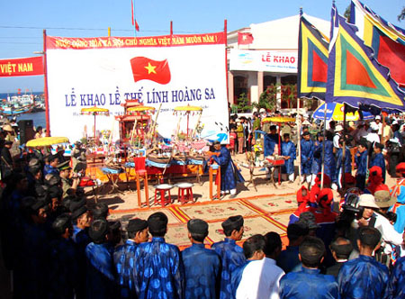 Hoang Sa fest recognised as intangible cultural heritage
