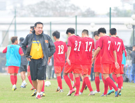 New coach injects realism in national football team's targets