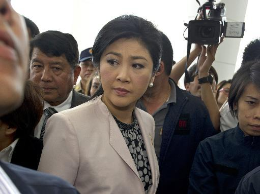Thai PM defends herself against negligence charges