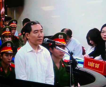 Duong Chi Dung appeals death penalty