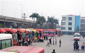 Hanoi to build new bus station in Gia Lam District