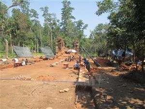 Ancient road discovered at Mỹ Sơn Sanctuary