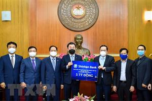 RoK's bank supports over 200,000 USD for Vietnam's COVID-19 fight